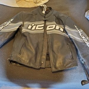 Icon mens motorcycle jacket